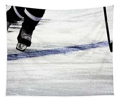 He Skates Tapestry
