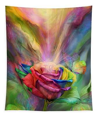Healing Rose Tapestry
