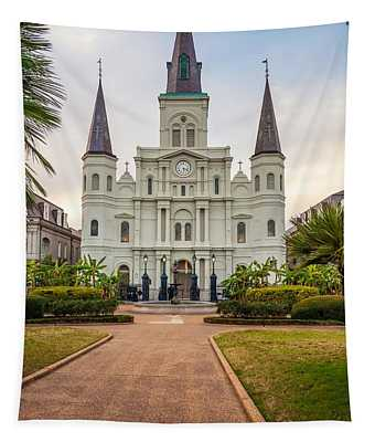 Heart Of The French Quarter Tapestry
