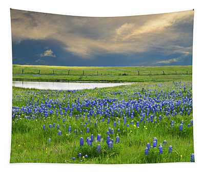 Heavenly Blues Tapestry