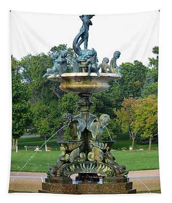 Heffelfinger Fountain Tapestry