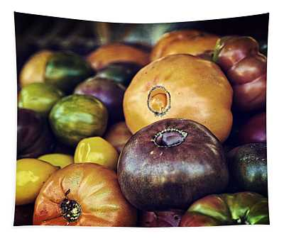 Fruit Stand Wall Tapestries