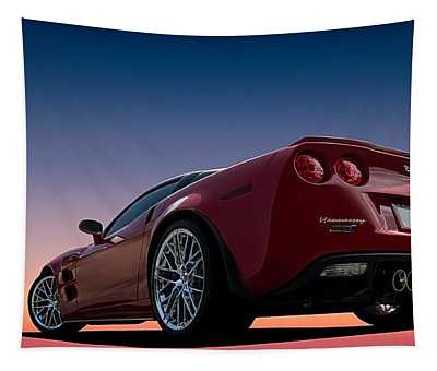 Hennessey Red Tapestry