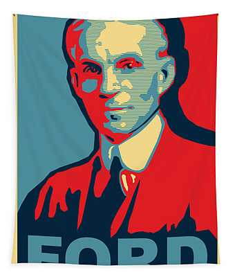 Henry Ford Tapestry