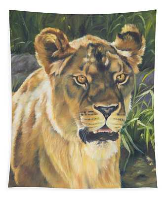 Her - Lioness Tapestry