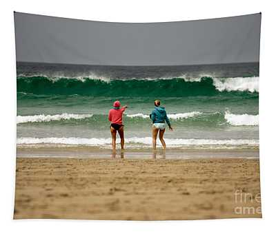 Here Comes The Big One Tapestry