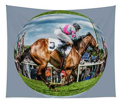Here We Go Round In Circles Tapestry