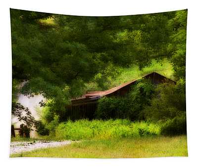 Hidden Down The Road Tapestry