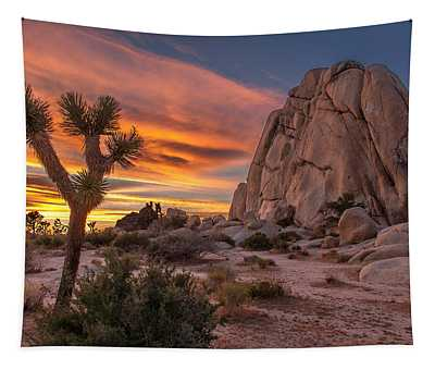 Hidden Valley Rock - Joshua Tree Tapestry