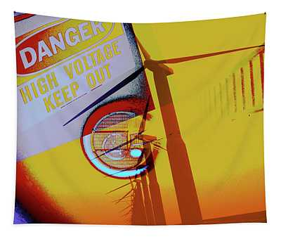 High Voltage Tapestry