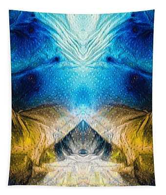 Higher Love Art By Sharon Cummings Tapestry