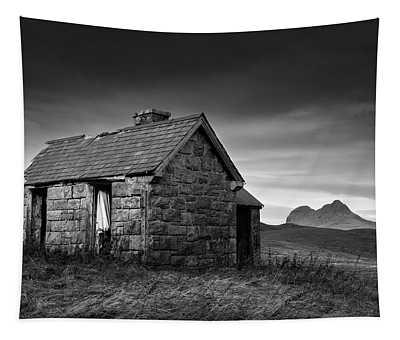Highland Cottage 1 Tapestry