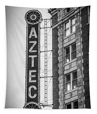 Historic Aztec Theater Tapestry