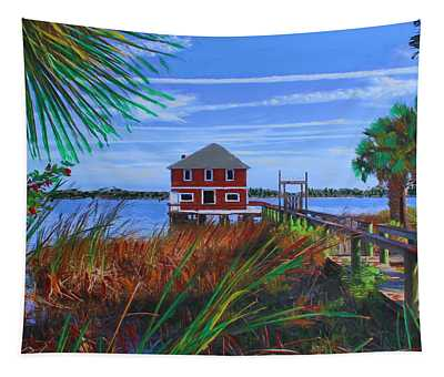 Historic Ormond Boathouse Tapestry