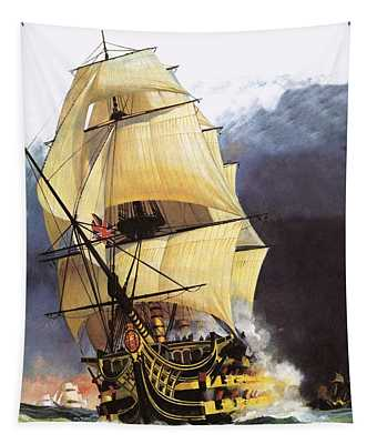 Hms Victory Tapestry