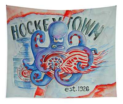 Hockeytown Tapestry