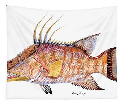 Hog Fish Tapestry