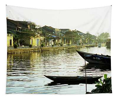 Hoi An Dawn 01 Tapestry