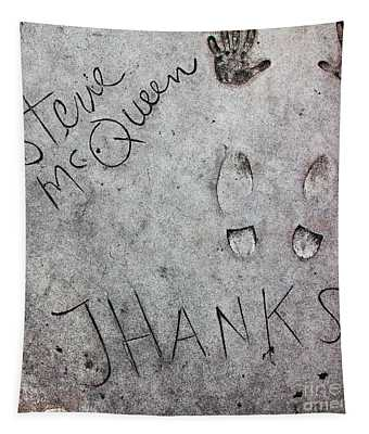 Hollywood Chinese Theatre Steve Mcqueen 5d29016 Tapestry