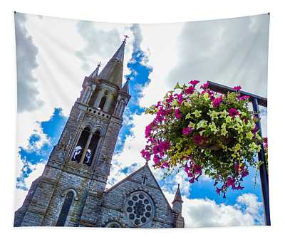 Holy Cross Church Steeple Charleville Ireland Tapestry