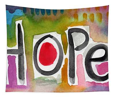 Hope- Colorful Abstract Painting Tapestry