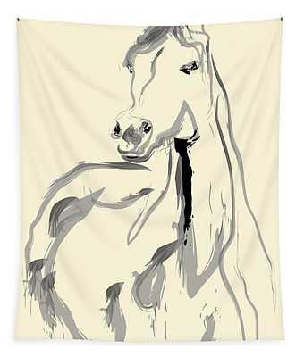 Horse - Arab Tapestry
