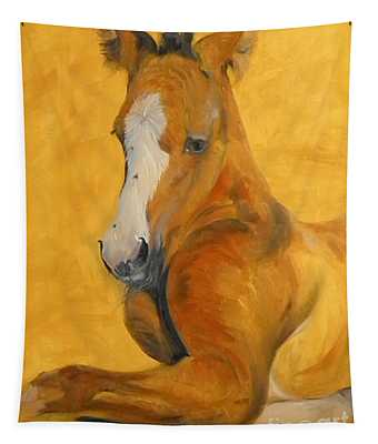 horse - Gogh Tapestry