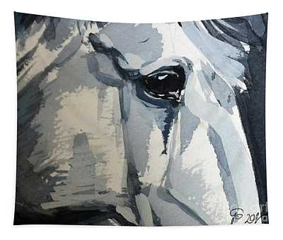 Horse Look Closer Tapestry