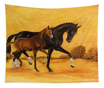 Horse - Together 2 Tapestry