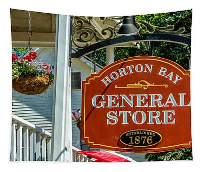 Horton Bay General Store Tapestry