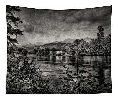House On The River Tapestry