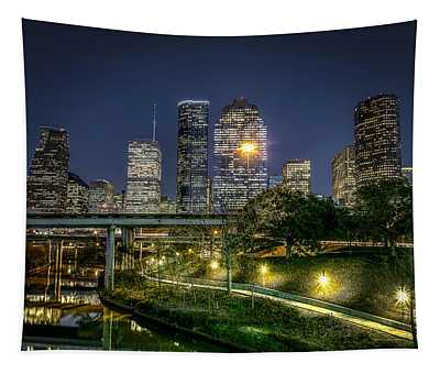 Houston On The Bayou Tapestry
