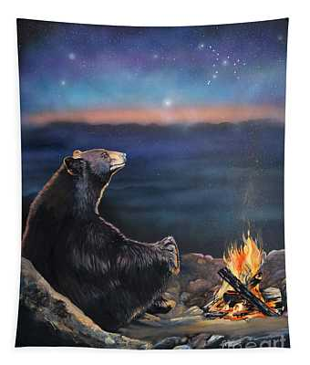 How Grandfather Bear Created The Stars Tapestry
