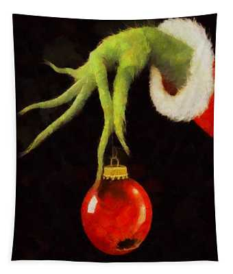 How The Grinch Stole Christmas Tapestry