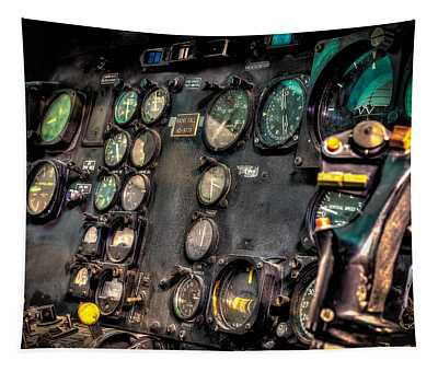 Huey Instrument Panel Tapestry