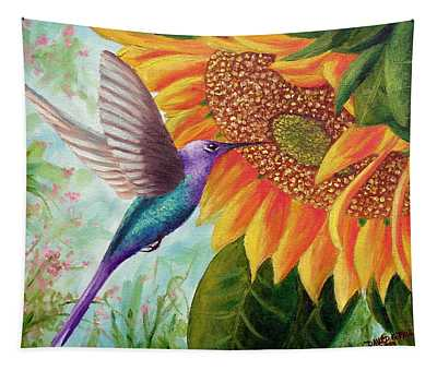 Humming For Nectar Tapestry