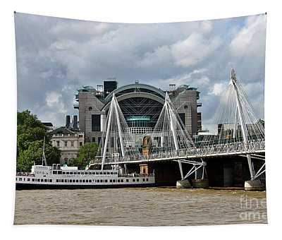 Hungerford Bridge And Charing Cross Tapestry