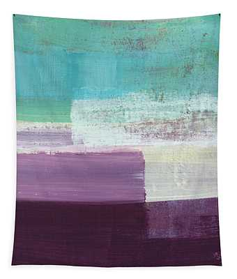 Hydrangea- Abstract Painting Tapestry