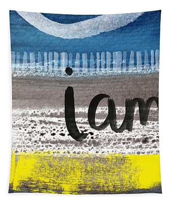 I Am- Abstract Painting Tapestry