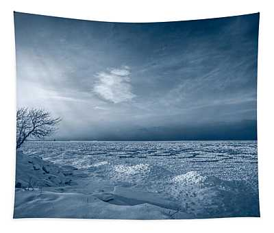 Ice Blue Tapestry