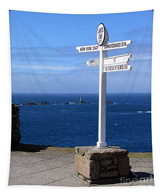 Iconic Land's End England Tapestry