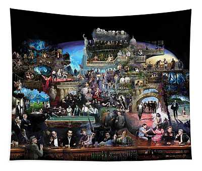 Icons Of History And Entertainment Tapestry