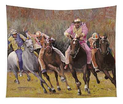 il palio dell'Assunta Tapestry