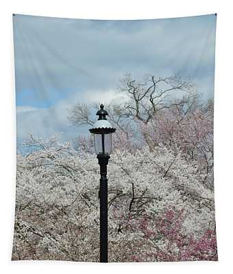 Illuminating Blossoms Tapestry