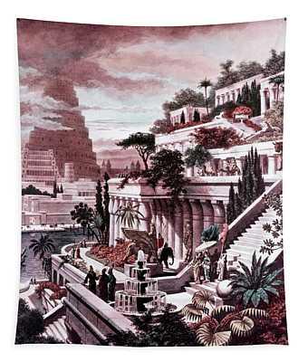 Illustration Seven Wonders Tapestry