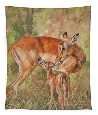 Impala Antelop Tapestry