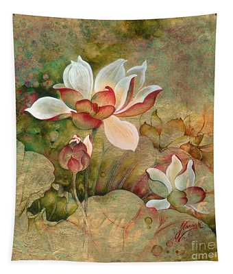 In The Lotus Land Tapestry