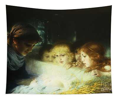 In The Manger Tapestry