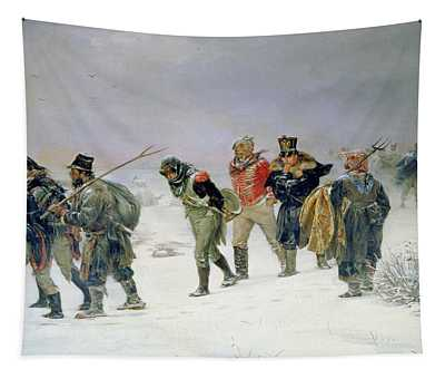 In The Year Of 1812, 1874 Oil On Canvas Tapestry