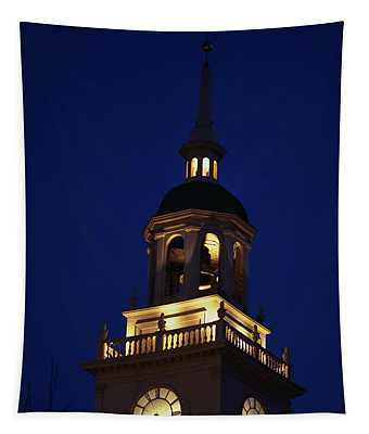 Independence Hall Tower Philadelphia Pa Tapestry
